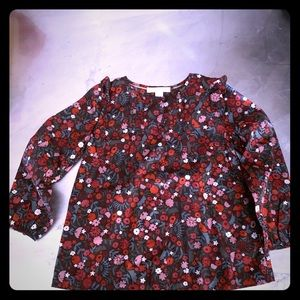 Burberry floral NWT blouse.